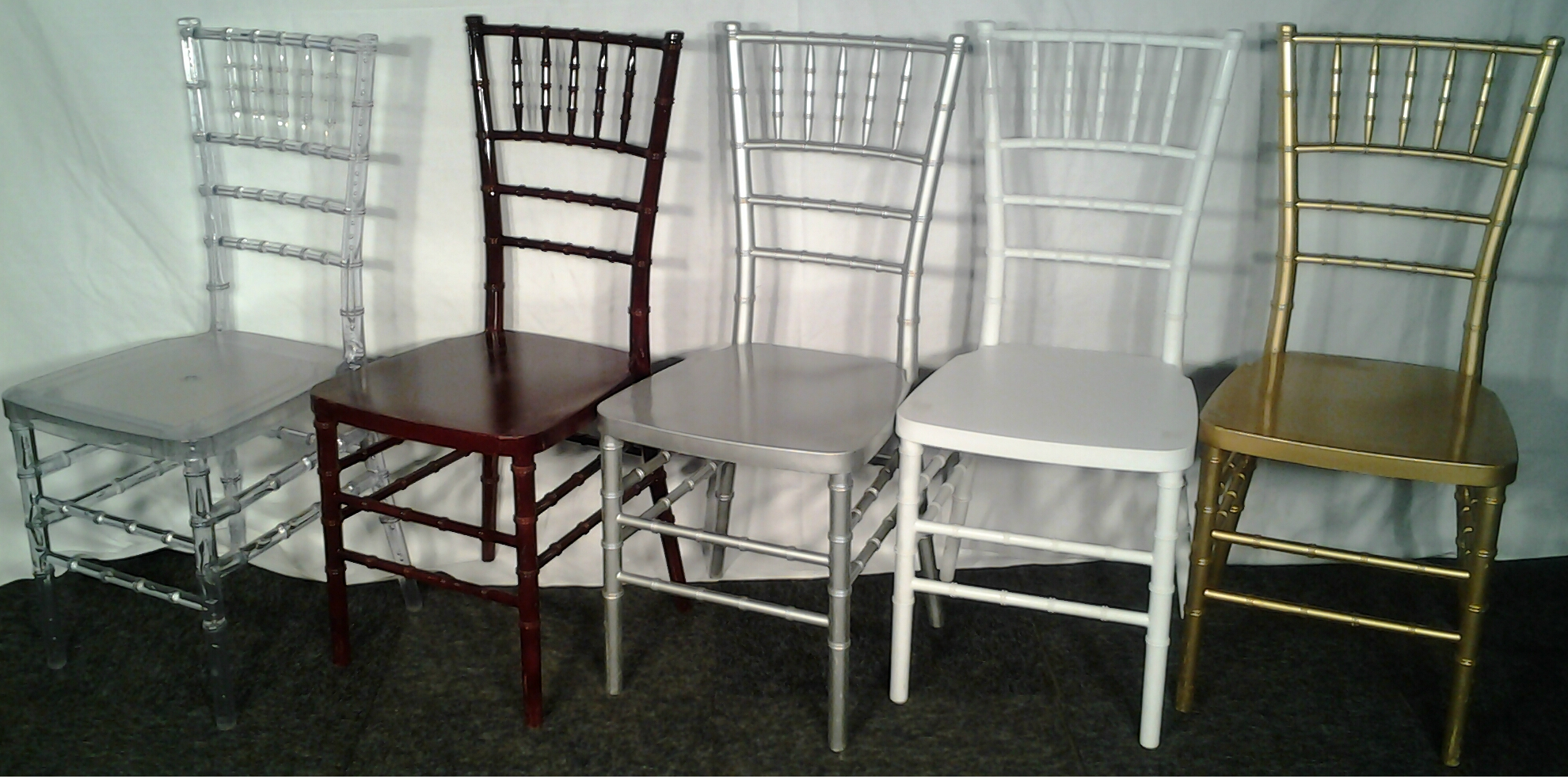 tiffany chairs clear burgundy silver white gold mpr hiring